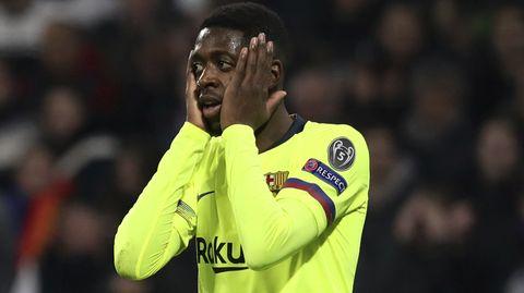 Ousmane Dembélé vom FC Barcelona