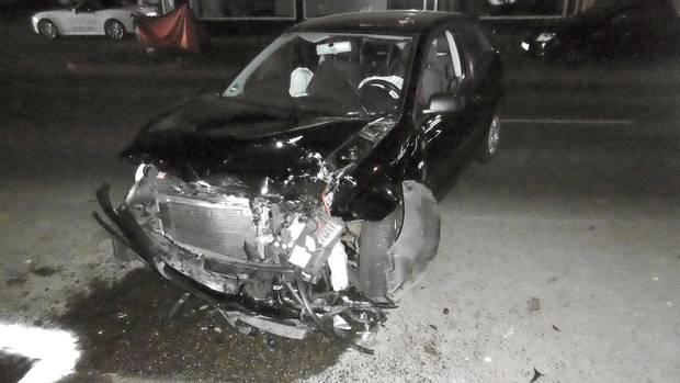 Ein Unfallfoto der Polizei Aachen für Nachrichten aus Deutschland