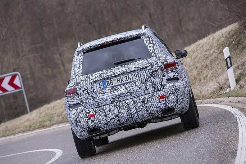 Prototypenerprobung Mercedes GLB