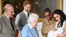 Baby Sussexheißt Archie Harrison Mountbatten-Windsor