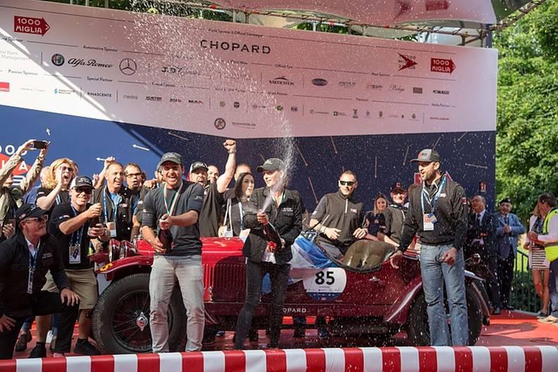 Mille Miglia 1. Platz