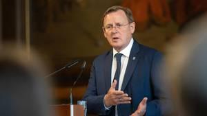 Thüringens Ministerpräsident Bodo Ramelow wünscht sich eine neue Nationalhymne