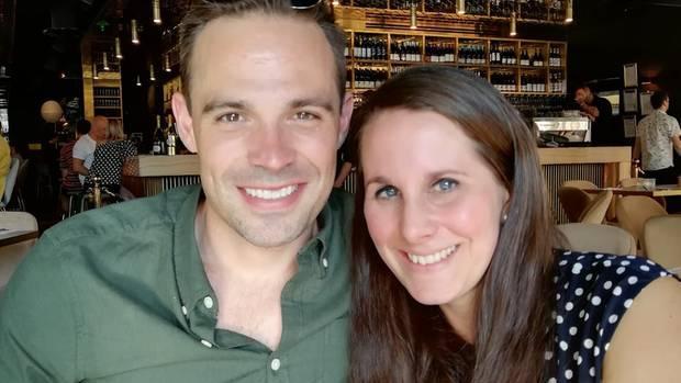 Chad Serpless und Sina Hünervogt
