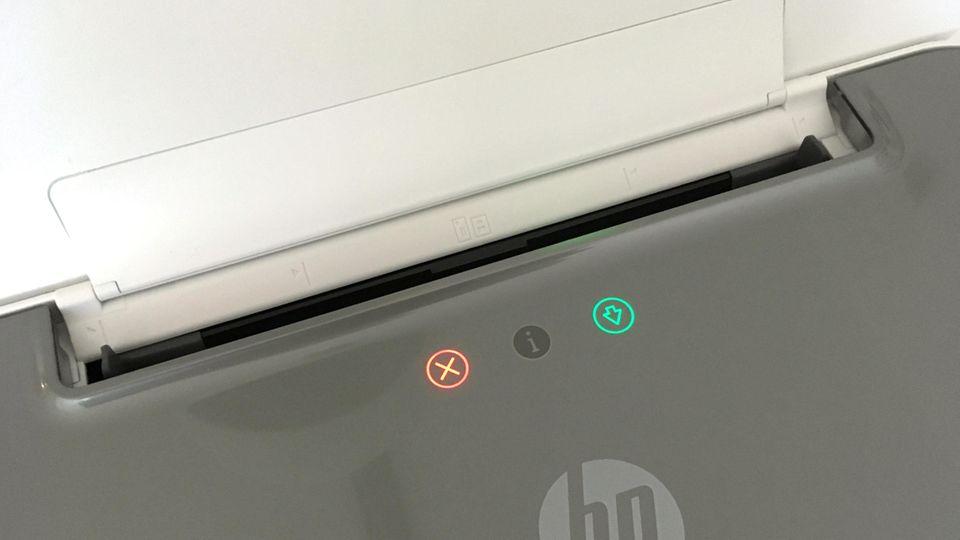 HP-Drucker Tango X - LED-Icons statt Display