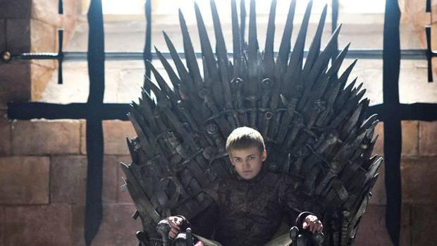 JoffreyBaratheon auf dem eisernen Thron