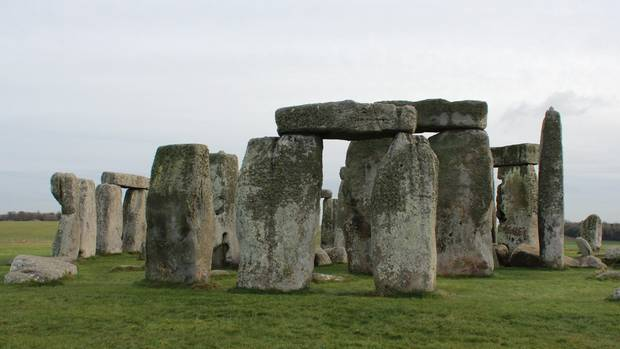Das historische Denkmal Stonehenge in England