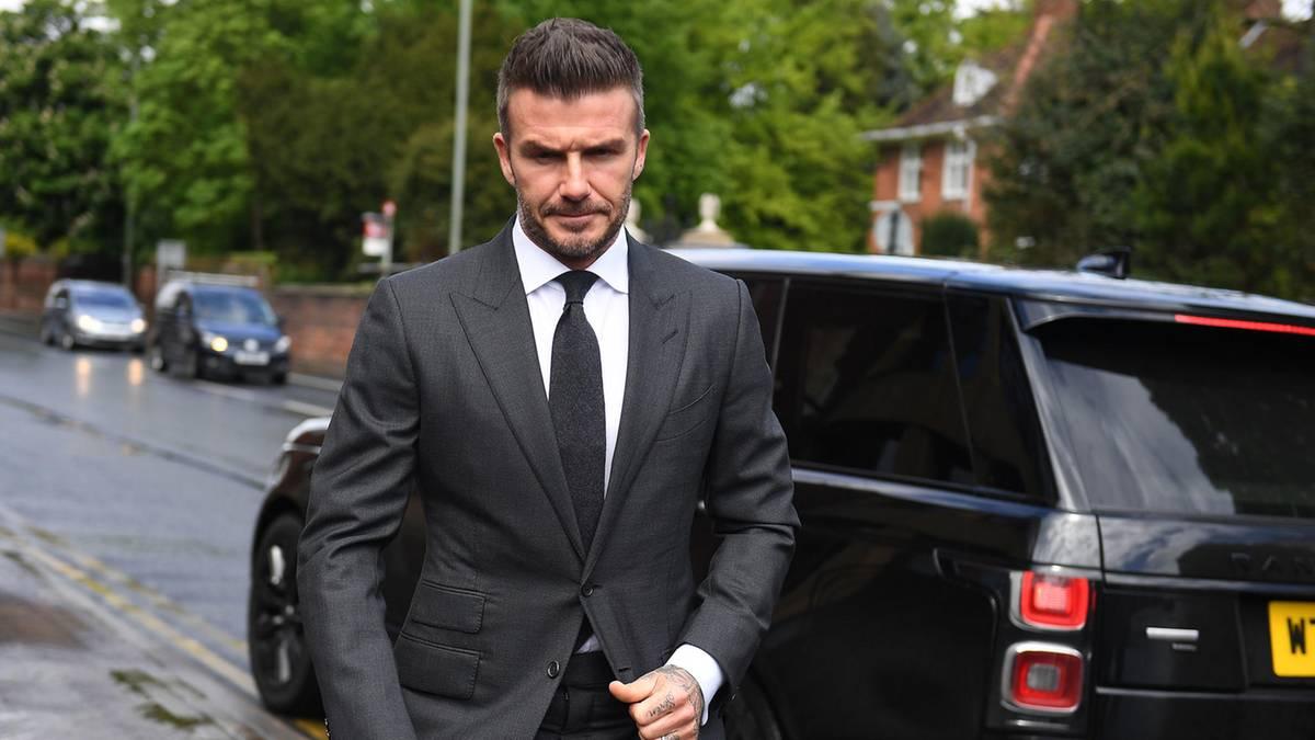 Leute von heute: Telefongespräch mit Folgen: David Beckham bekommt Fahrverbot