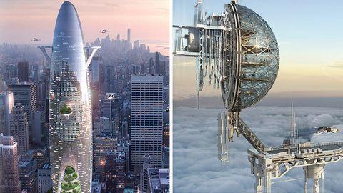 Architekturwettbewerb: So sieht das Hochhaus der Zukunft aus
