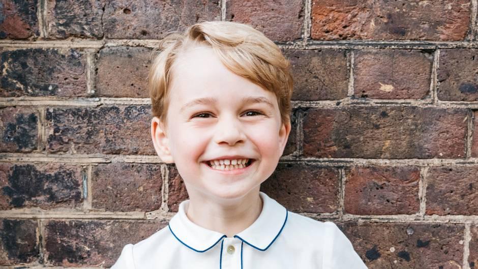 Meghans und Harrys Nachwuchs: Hat Prinz George den Namen von Baby Archie schon im Januar verraten?