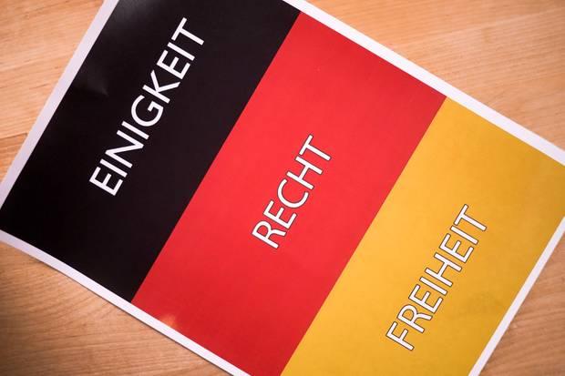 """""""Einigkeit, Recht, Freiheit"""": Bei der Nationalhymne handelt es sich um die dritte Strophe des """"Lieds der Deutschen"""""""