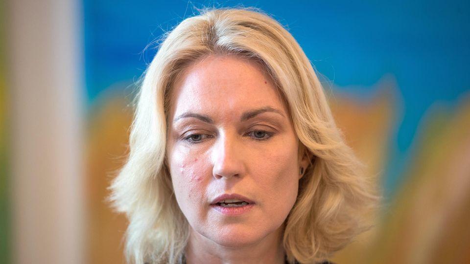 SPD-Ministerpräsidentin Manuela Schwesig