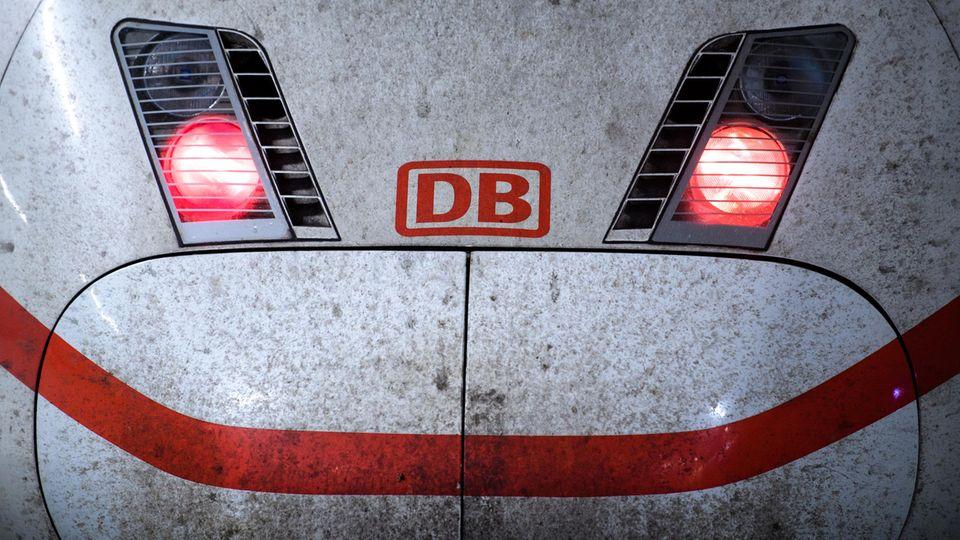 ICE-Zugder Deutschen Bahn