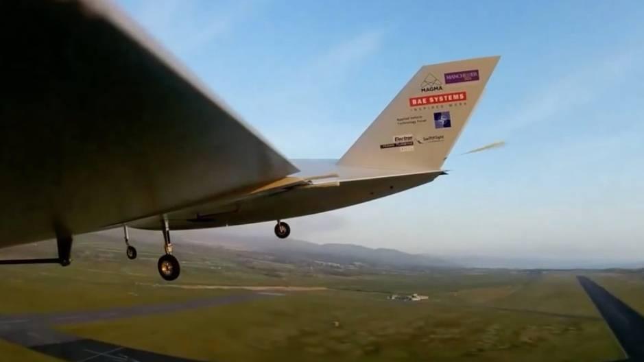 """Prototyp mit """"Active flow control"""": Diese Drohne steuert ihren Flug nur durch einen Luftstrom"""
