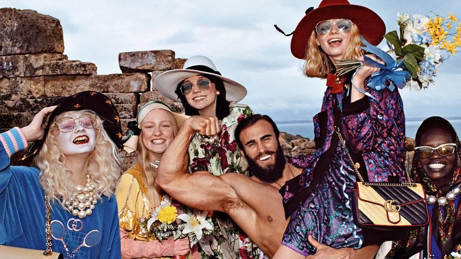 2c536333e72 Gucci: Kaum eine Modemarke ist derzeit so beliebt | STERN.de