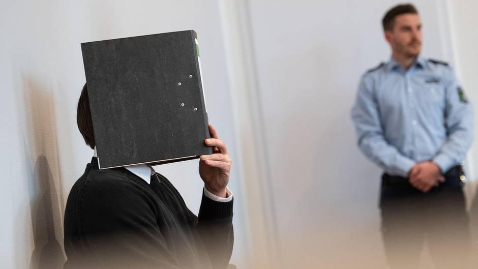 Der 31-jährige Angeklagte vor Gericht