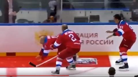 Wladimir Putin - Eishockey - Sotschi - Sturz