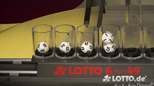 Lotto Samstagsziehung - Panne Lotto