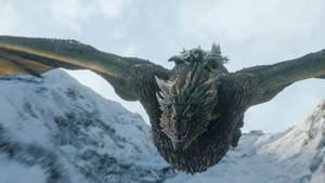Jon auf seinem Drachen