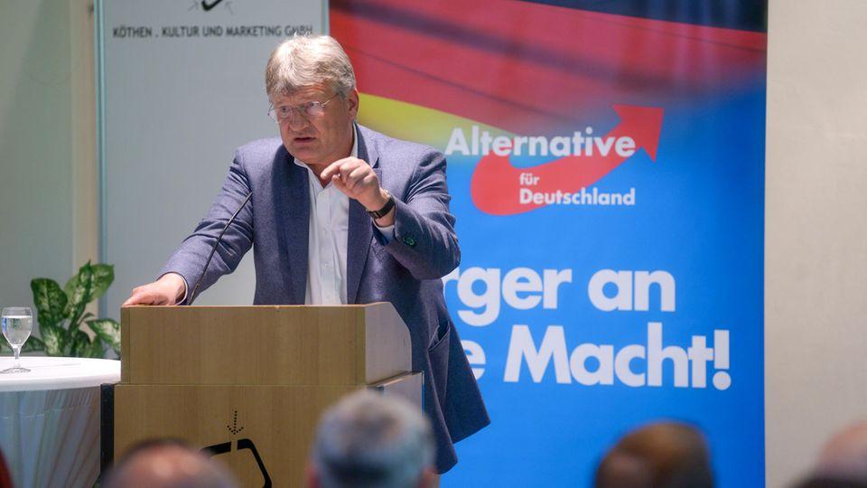 AfD-Spitzendkandidat Jörg Meuthen
