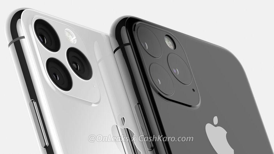 So stellt sich Leaker OnLeaks die Kameras des iPhone XI anhand der Beschreibungen vor