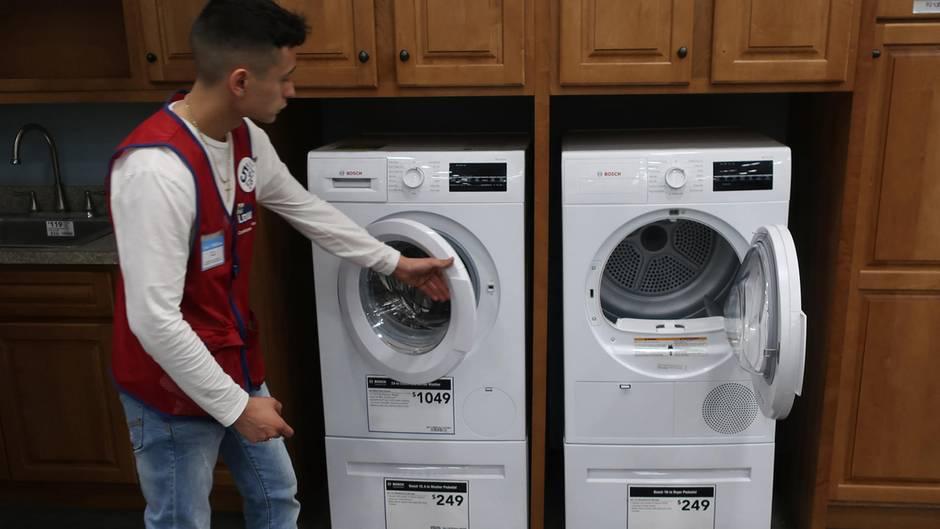 Waschmaschine China USA