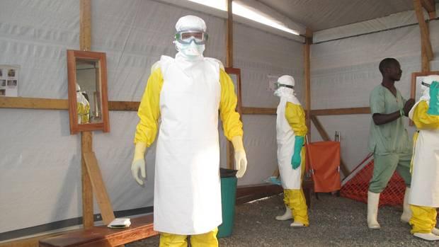 Einsatz während einer Ebola-Epidemie in Westafrika 2015