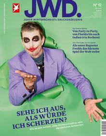 Joko Winterscheidt auf dem Cover der JWD, Ausgabe 12