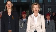 Katrin Suder (l.)und Ursula von der Leyen