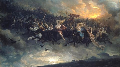 Abbildung der nordischen Mythologie