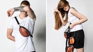 Bal Designs macht Taschen aus alten Basketbällen