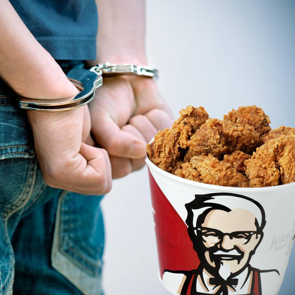 KFC: Mann verhaftet, weil er sich ein Jahr als Mitarbeiter ausgab – und umsonst aß