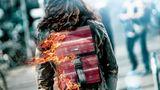 Mode aus Feuerwehrschläuchen