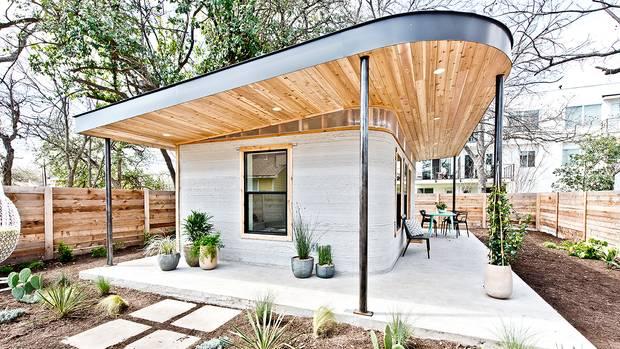 Vorteil der ungewöhnlichen Bauart: Die Häuser sind schnell und für wenige Tausend Dollar pro Gebäude zu errichten.
