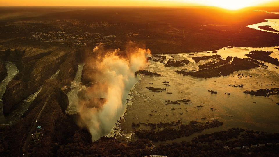 Wasserknappheit: Afrikas gefährdete Landschaften in grandiosen Bildern