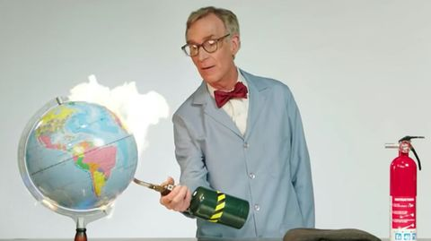 Bill Nye - The Planet is on fucking fire