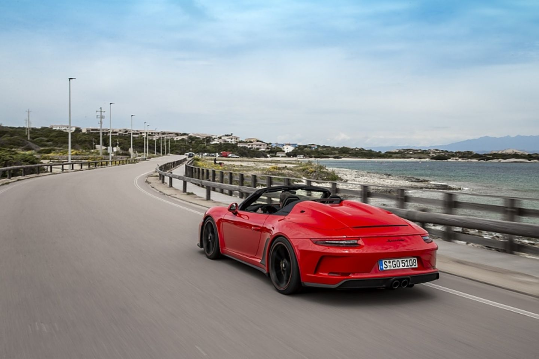 Vom Porsche 911 Speedster werden nur 1.948 Exemplare gebaut