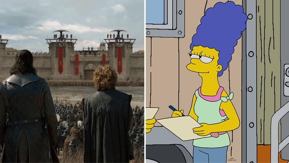 """Orakel: """"Game of Thrones"""": Simpsons liegen mit Vorhersage schon wieder richtig"""