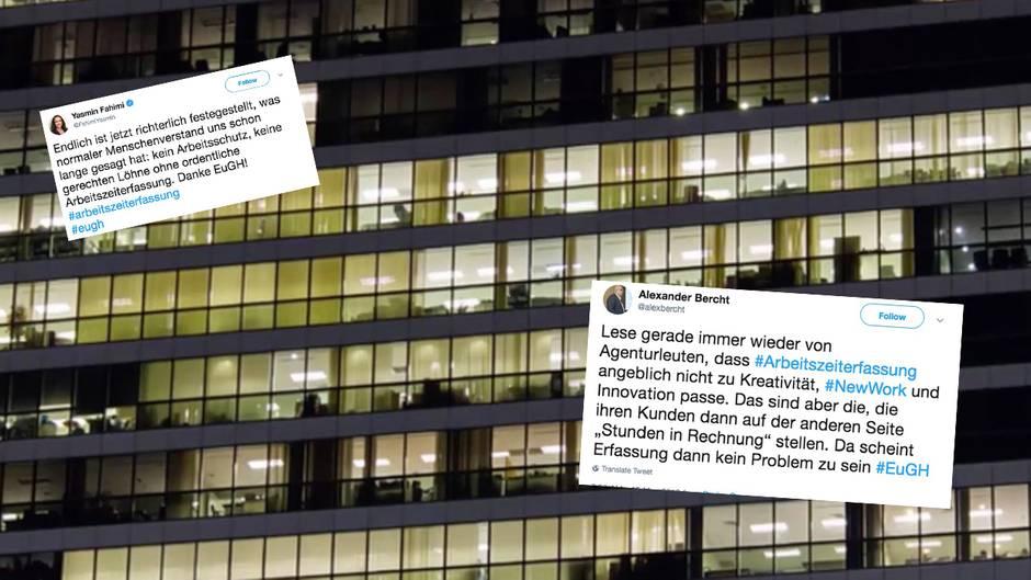 """#Arbeitszeiterfassung: """"Kannste dir nicht ausdenken"""" - Nutzer streiten über neues EU-Gesetz"""
