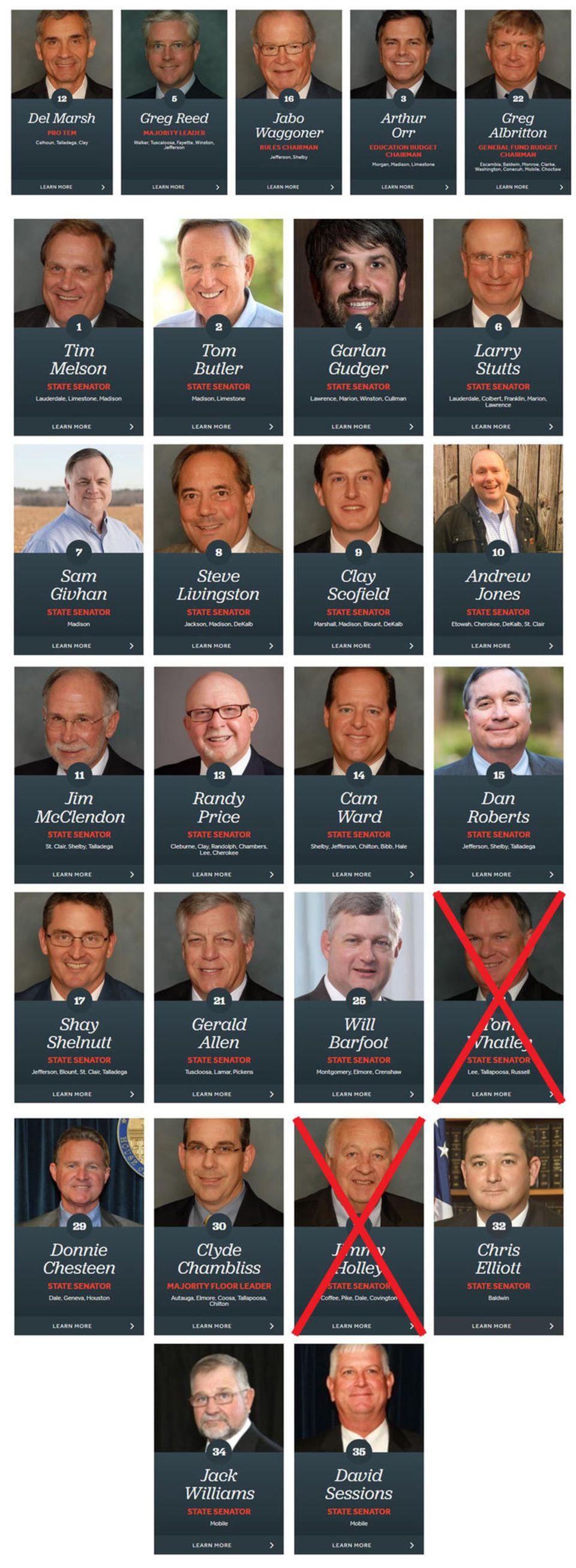 Neuregelung in Alabama: Fällt Ihnen etwas auf? Diese Politiker haben für das härteste Abtreibungsgesetz der USA gestimmt