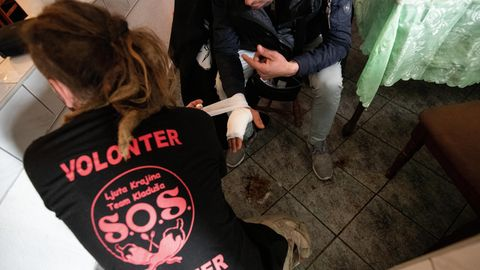 Schon öfter wurden an der bosnisch-kroatischen Grenze Flüchtlinge aufgegriffen