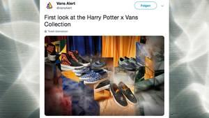 """Auf Twitter kursieren erste Bilder der """"Harry Potter""""-Vans-Kollektion"""