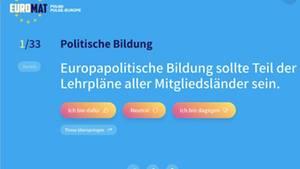 Europawahl Wahl-O-Mat