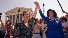 Norma McCorvey alias Jane Roe 1989