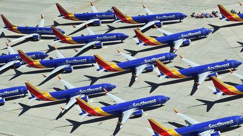 Diese Maschinen vom Typ Boeing 737 MAX 8 sind vom Flugverbot betroffen