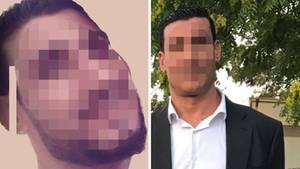 Der verdächtige 42-jährige Mohammed Soultana ist 1,98 Meter groß