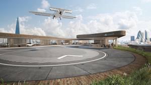 Zur Landung benötigt das Gerät einen größeren Parkplatz.