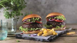 Lidl Beyond meat Burger