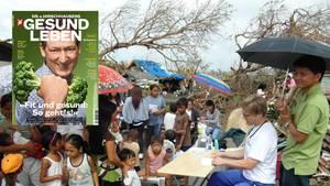 """Philippinische Bevölkerung wird nach Taifun von """"Ärzte ohne Grenzen"""" versorgt"""