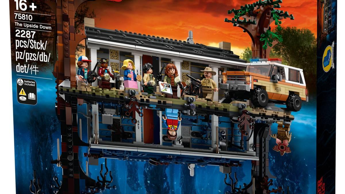 """Netflix-Serie: Komm auf die andere Seite: """"Stranger Things"""" gibt es jetzt als Lego-Set mit 2200 Teilen"""