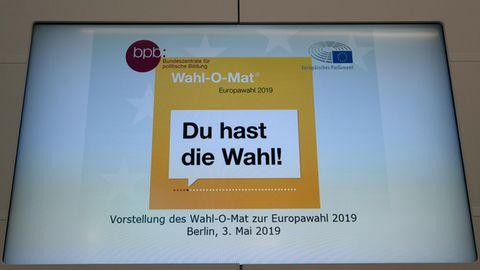 Der Wahl-O-Mat soll für die Europawahl bei der Entscheidungsfindung helfen